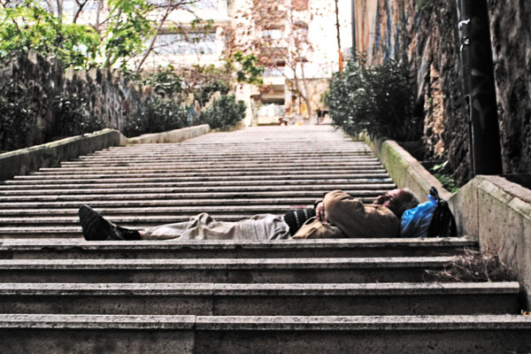 Obdachlos wegen Schufa
